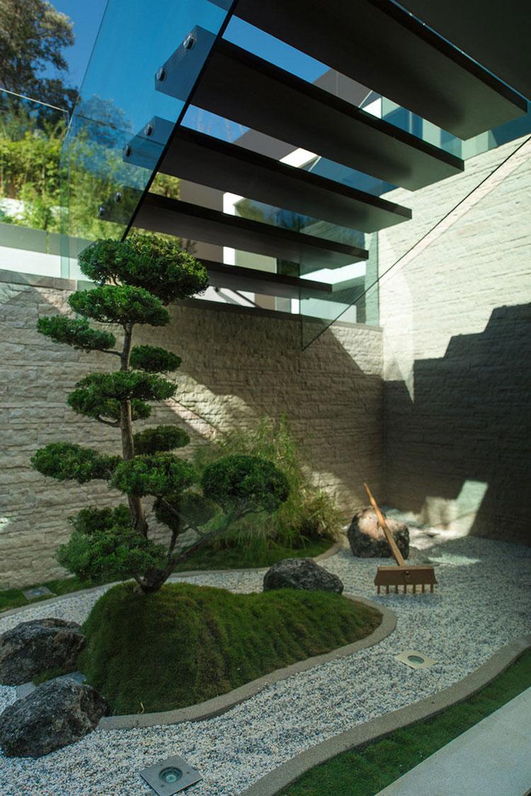Japanese style zen garden photo # 24