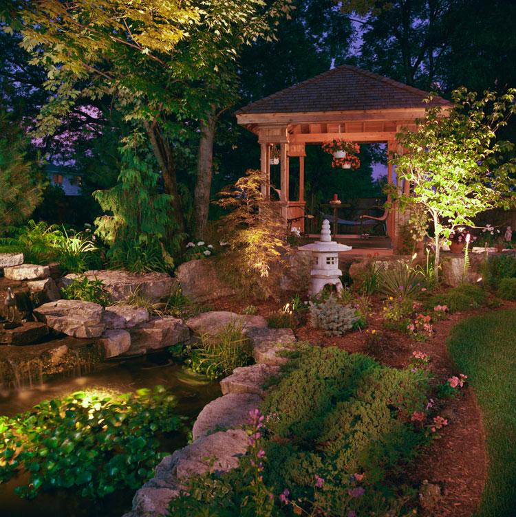 Japanese style zen garden photo # 19