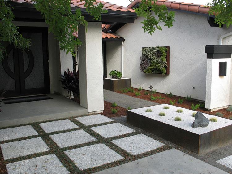 Japanese style zen garden photo # 15