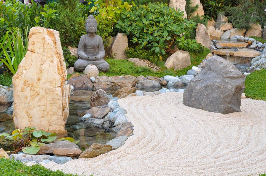 Japanese style zen garden photo # 31