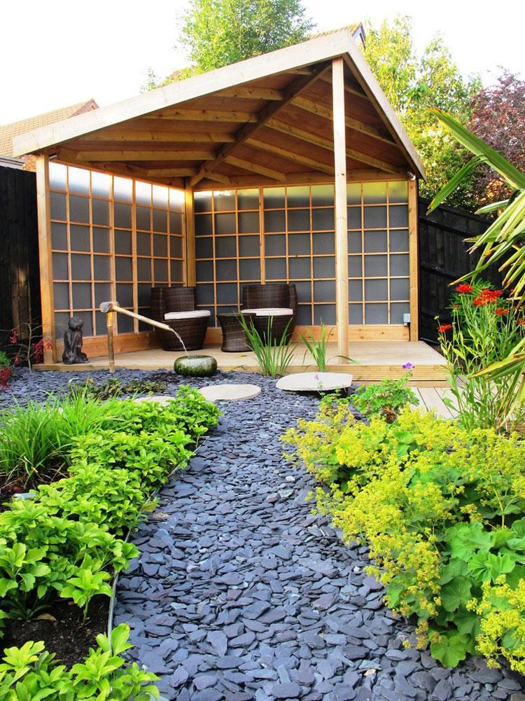 Japanese style zen garden photo # 25