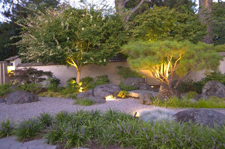 Japanese style zen garden photo # 28