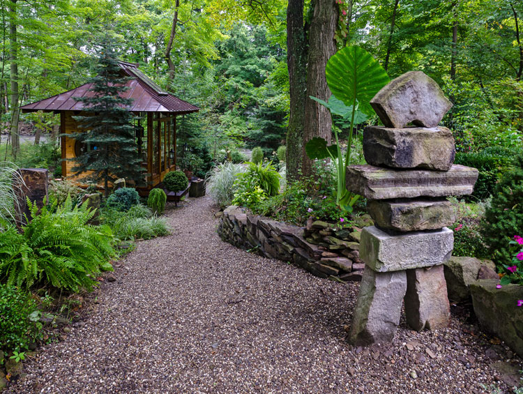 Japanese style zen garden photo # 29