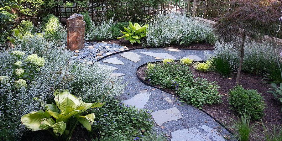 Japanese style zen garden photo # 39