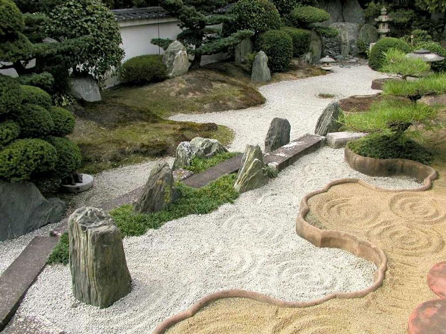 Japanese style zen garden photo # 32
