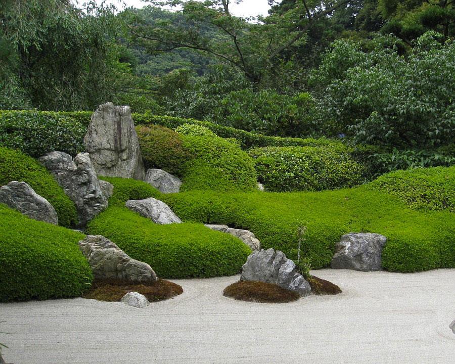Japanese style zen garden photo # 37