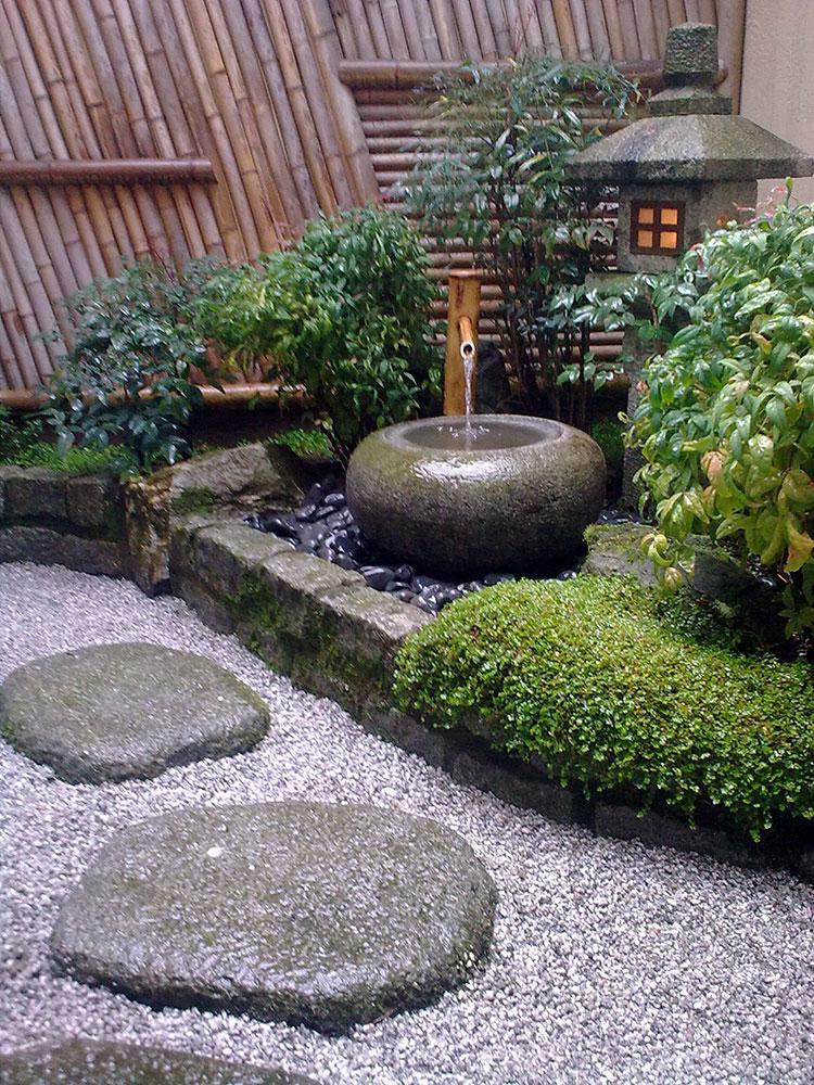 Japanese style zen garden photo # 33