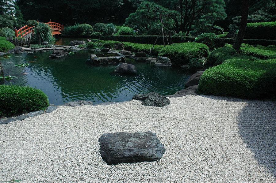 Japanese style zen garden photo # 40