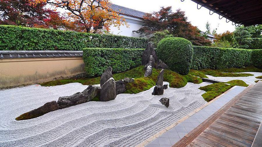 Japanese style zen garden photo # 35