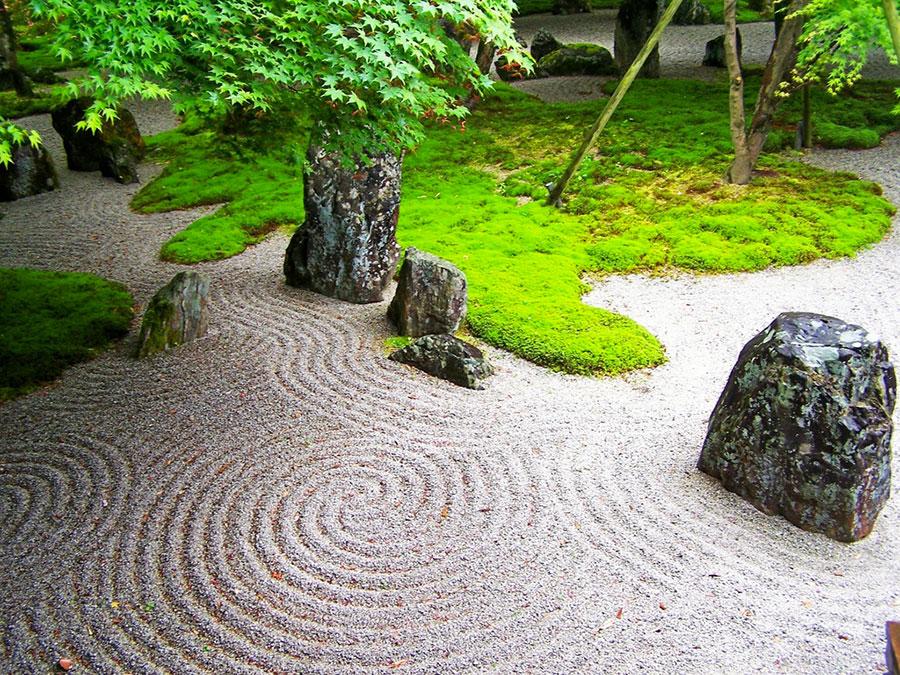 Japanese style zen garden photo # 36