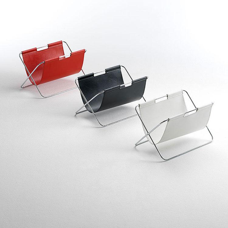 Modern design magazine rack model n.06