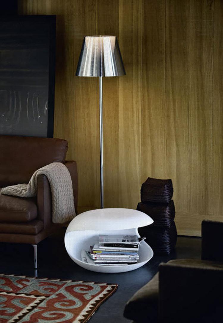 Modern design magazine rack model n.03