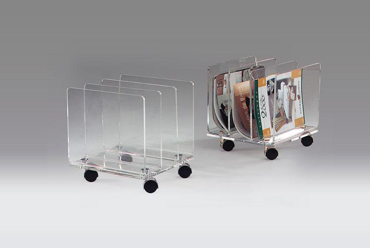 Modern design magazine rack model n.19
