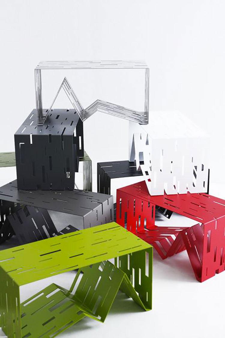 Modern design magazine rack model n.22