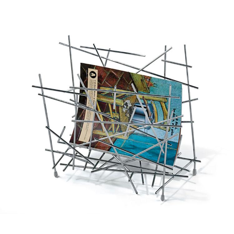 Modern design magazine rack model n.04