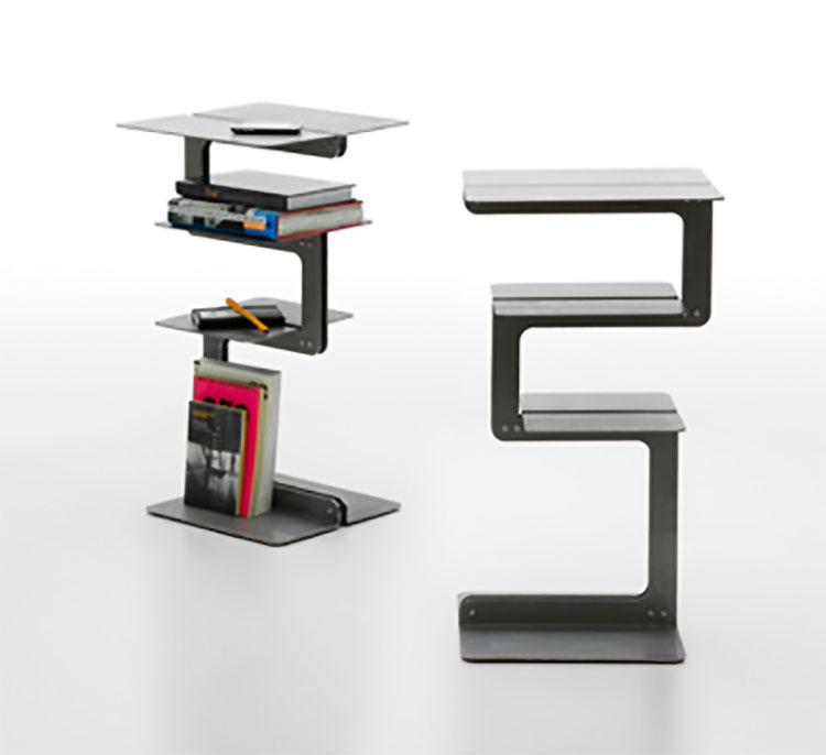 Modern design magazine rack model n.10