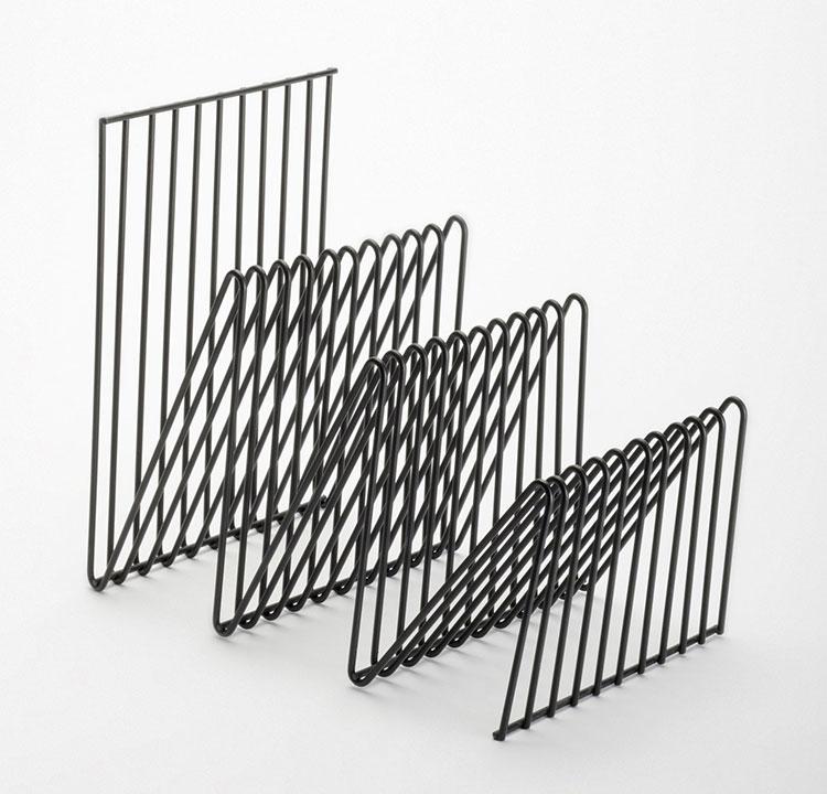 Modern design magazine rack model n.07