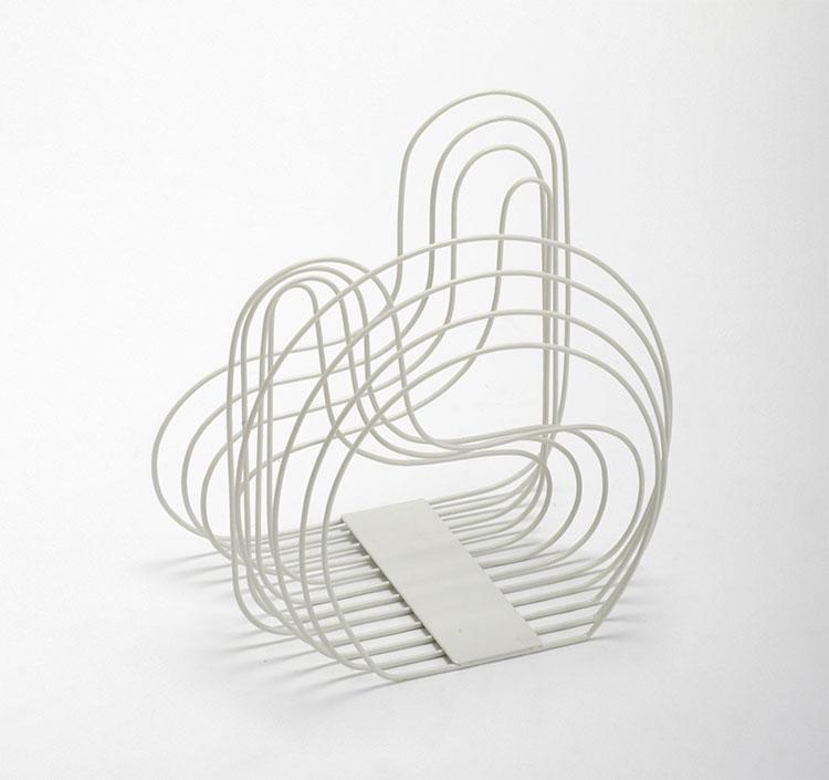 Magazine rack model with a modern design n.08