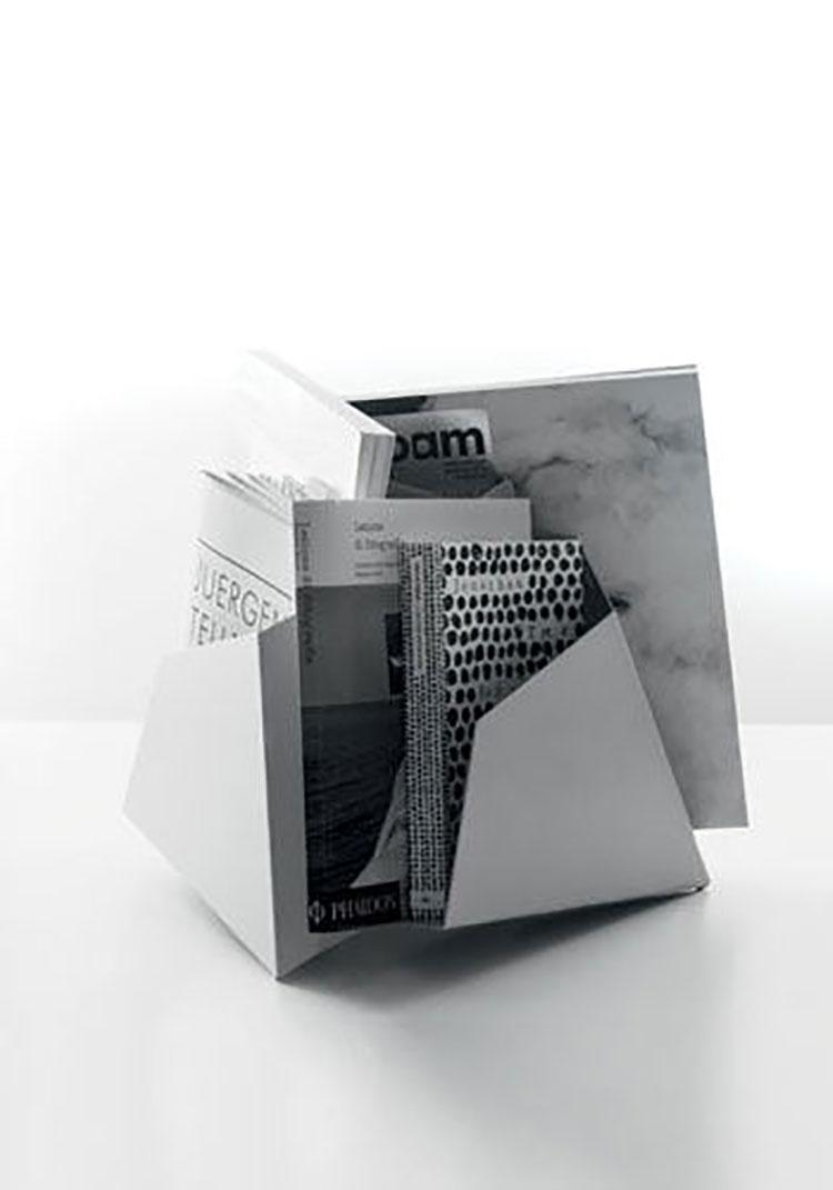 Modern design magazine rack model n.11