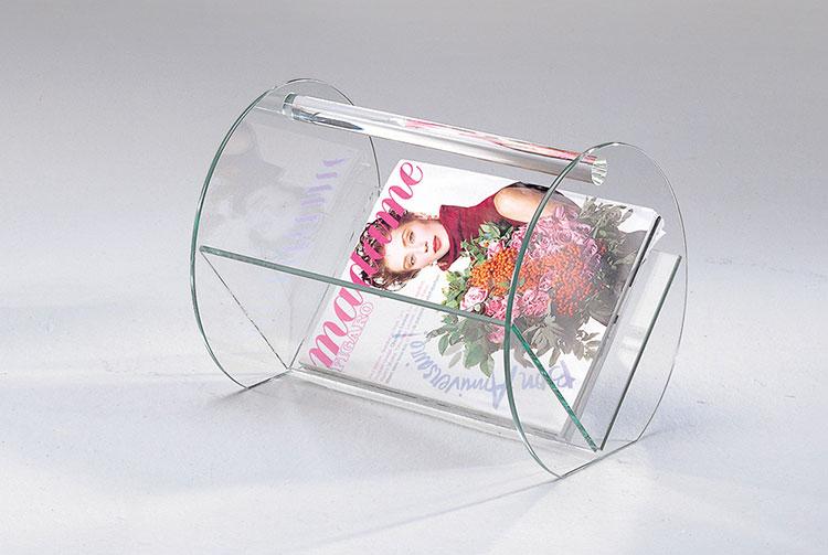 Modern design magazine rack model n.18