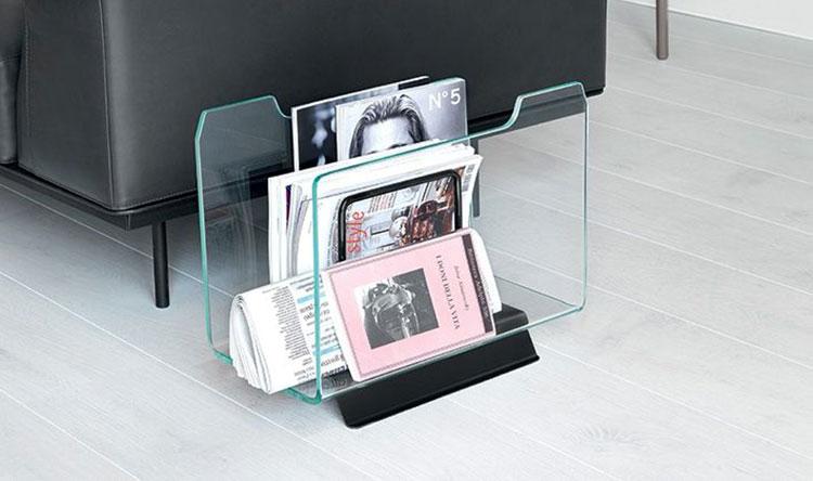 Magazine rack model with modern design n.02