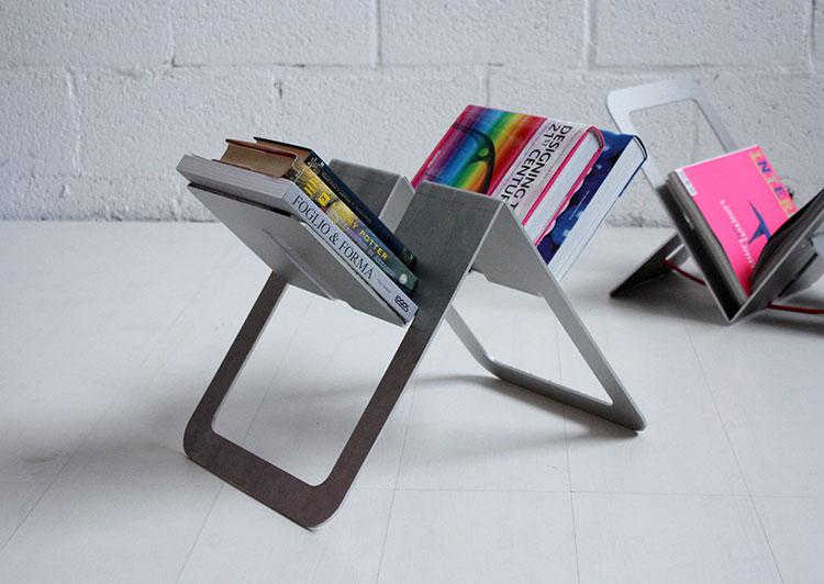 Modern design magazine rack model n.27