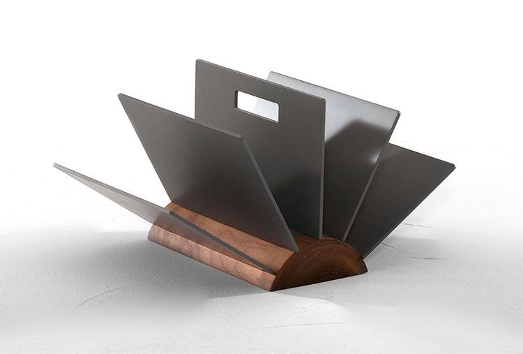 Modern design magazine rack model n.34