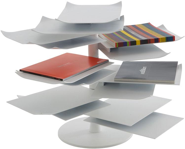 Modern design magazine rack model n.35
