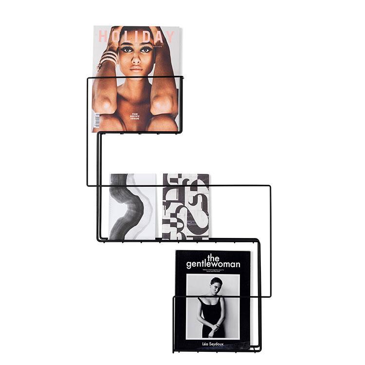 Modern design wall magazine rack model n.03