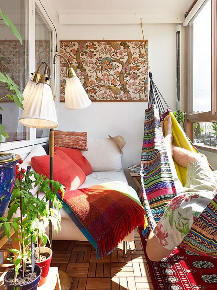 Indoor hammock model n.06