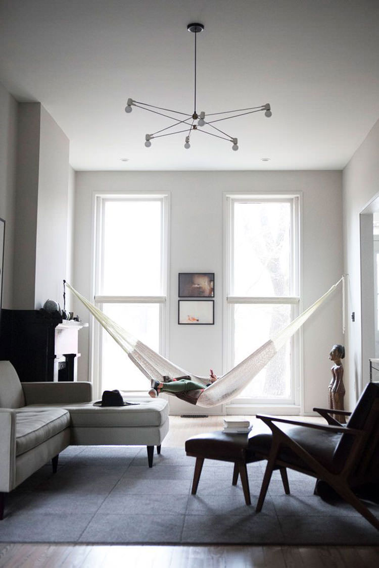 Indoor hammock model n.02