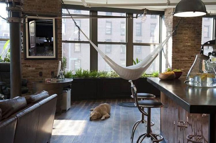 Indoor hammock model n.14