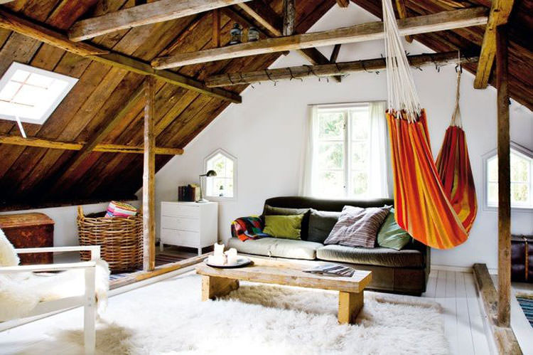 Indoor hammock model n.08