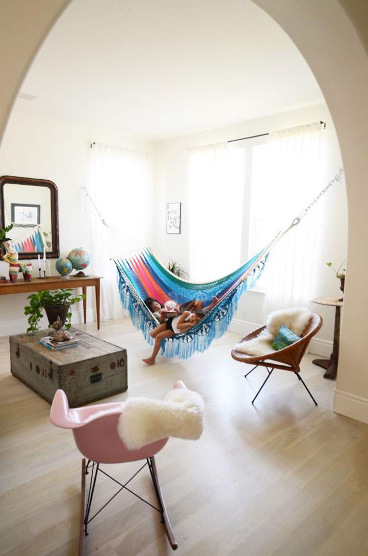 Indoor hammock model n.17