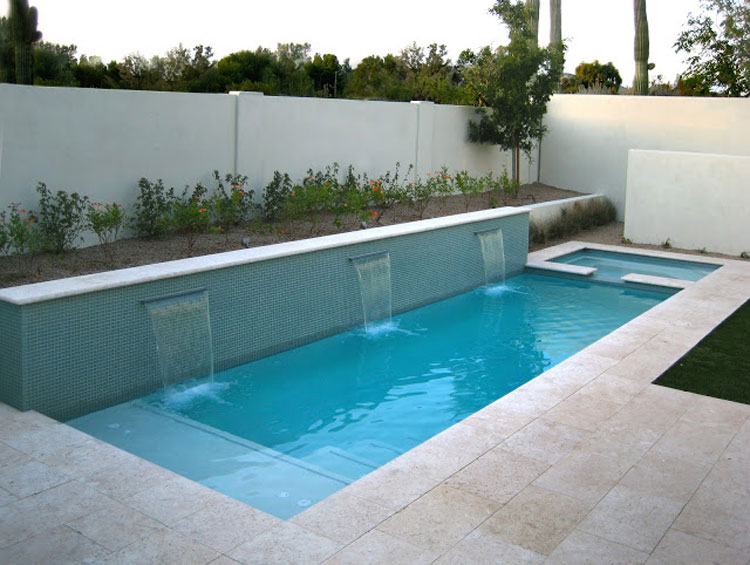 Photo of the small underground pool n.21