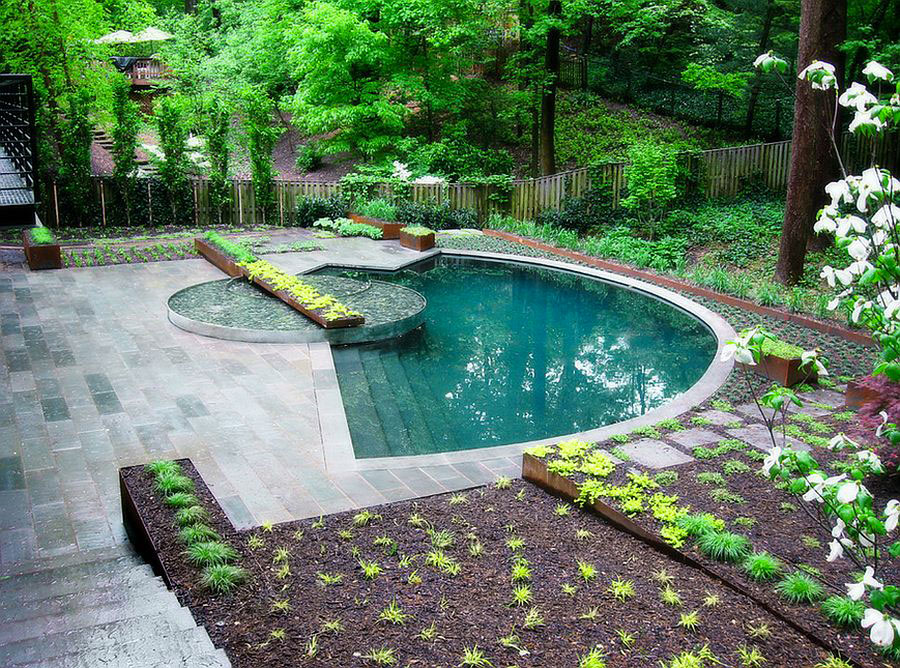 Photo of the small underground pool n.60