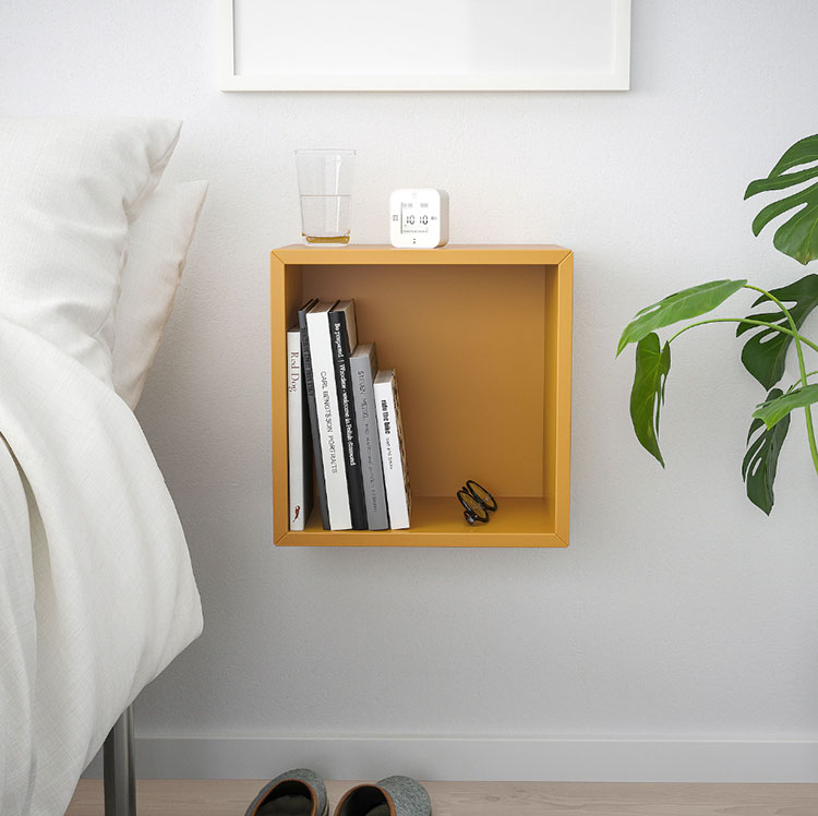 Suspended bedside table model by Ikea n.01