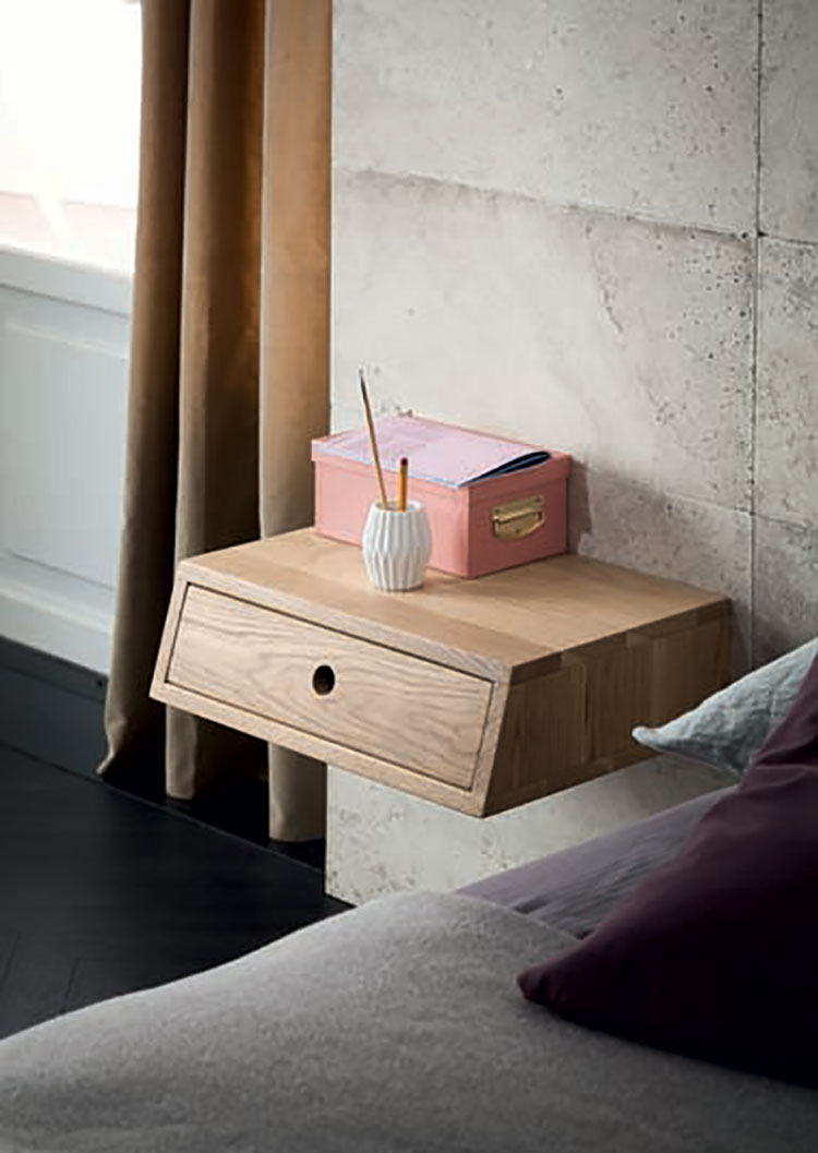 High Court suspended bedside table n.02