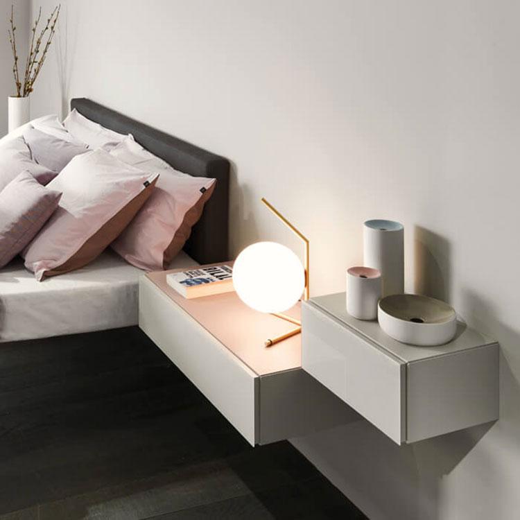 Lago suspended bedside table model n.02