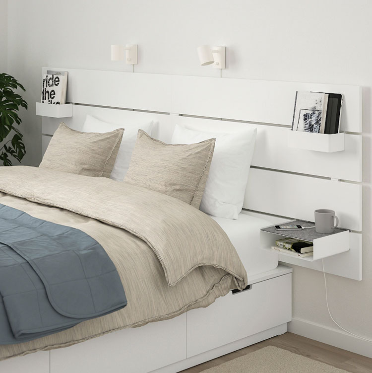 Suspended bedside table model by Ikea n.05
