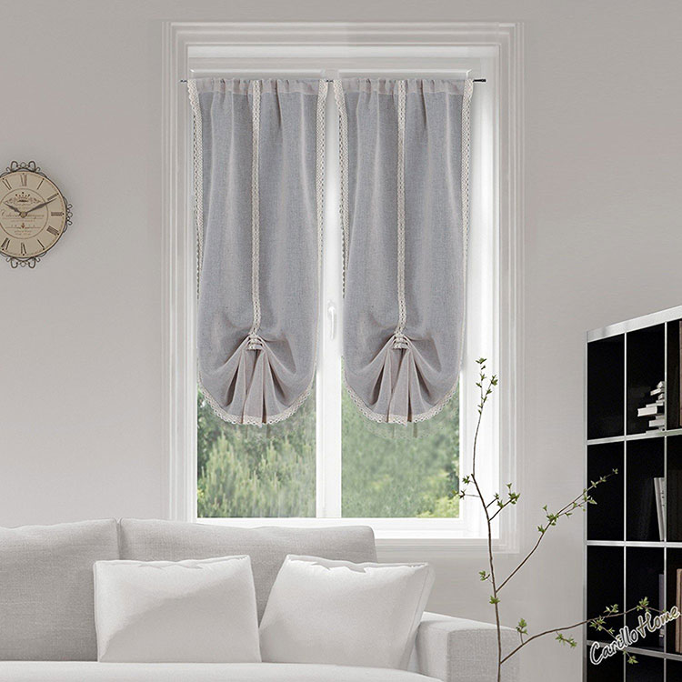 Shabby chic living room curtain model n.09
