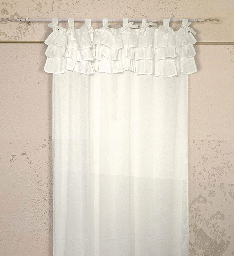 Shabby Chic Bedroom Curtain Pattern # 03