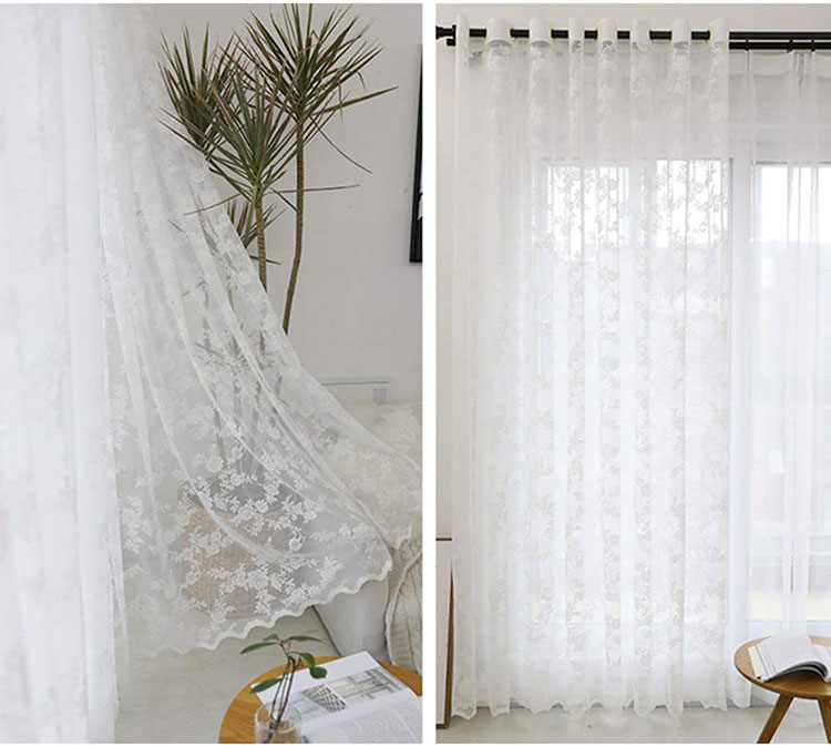 Shabby chic living room curtain model n.03