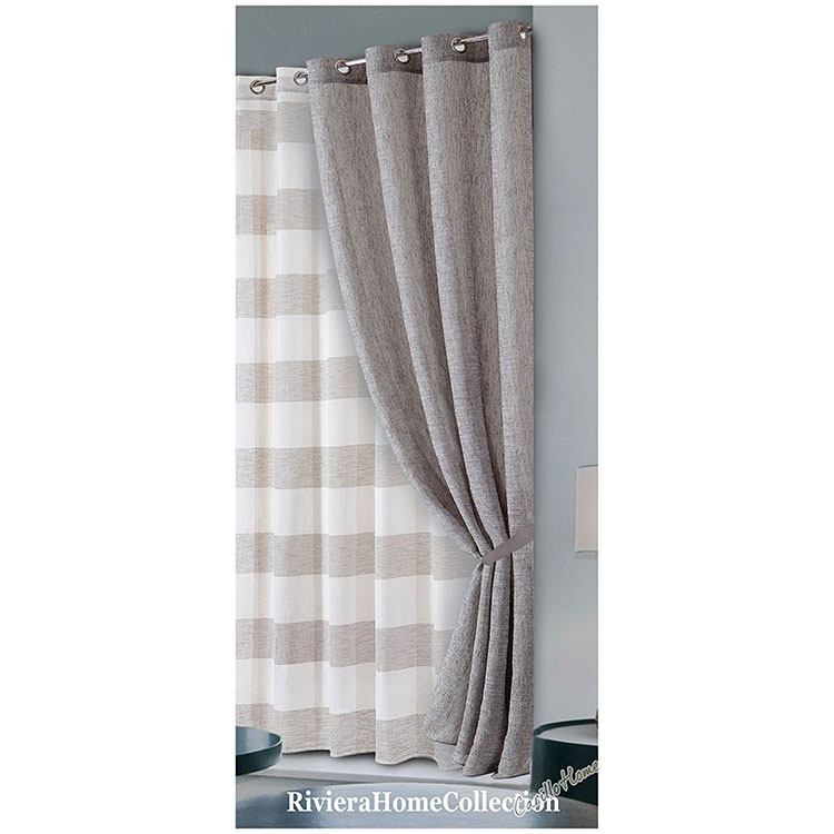Shabby Chic Bedroom Curtain Pattern # 02