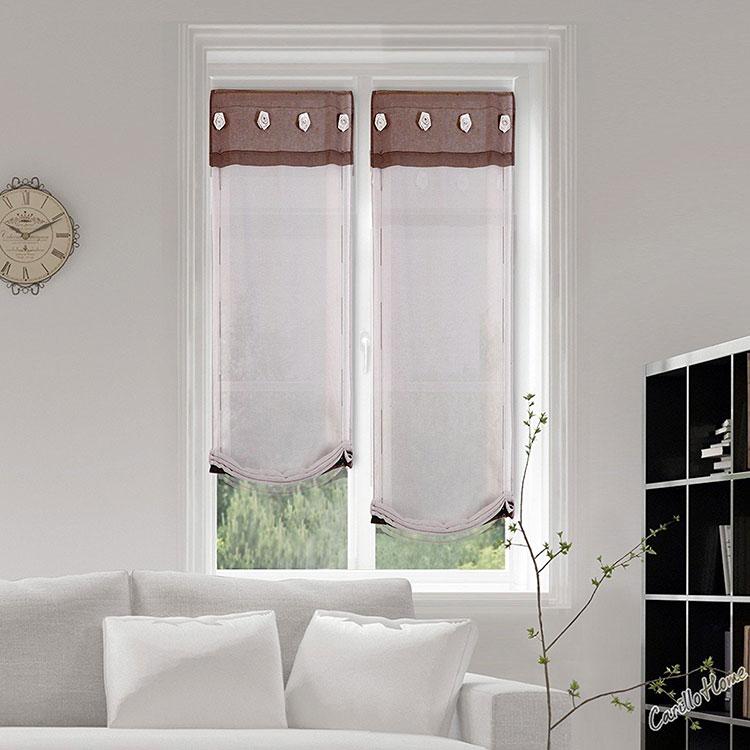 Shabby chic living room curtain model n.08