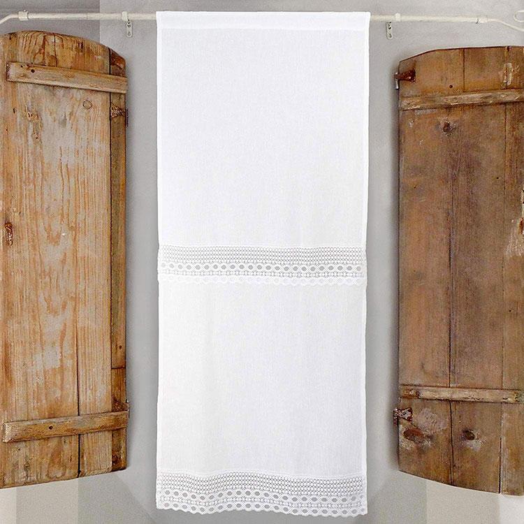 Shabby Chic Kitchen Curtain Model # 06