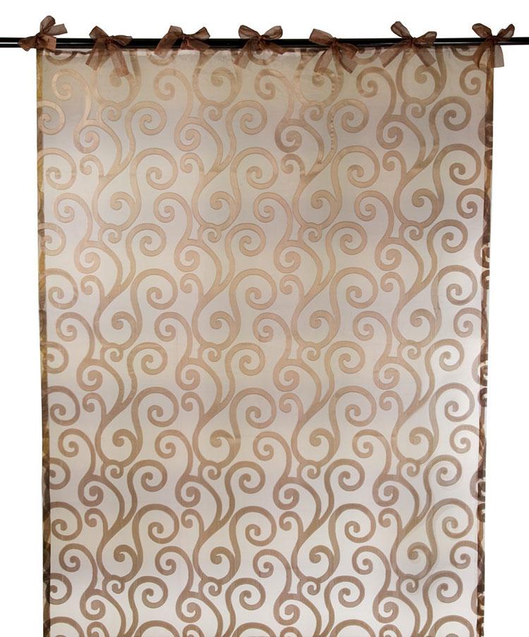 Shabby Chic Bathroom Curtain Pattern # 04