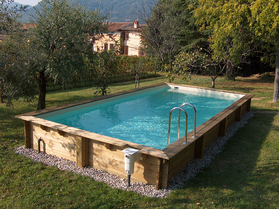 Solaris above ground pool model
