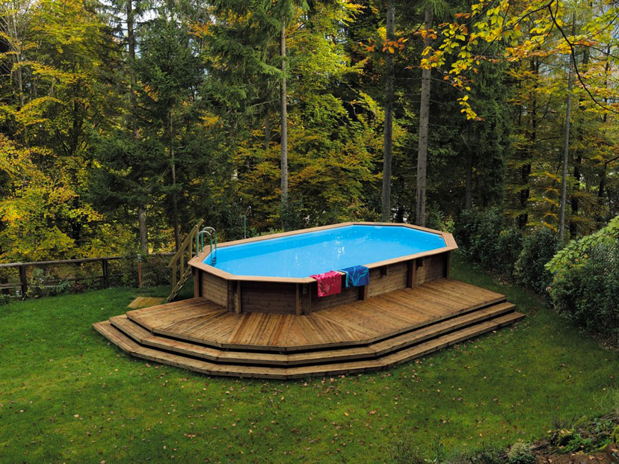 Above ground pool model by Il Ceppo