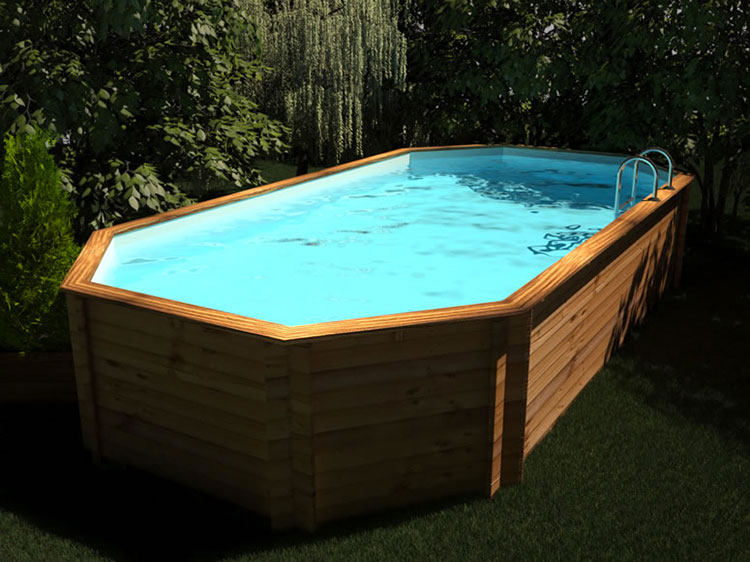Above ground pool model by CWT Piscine
